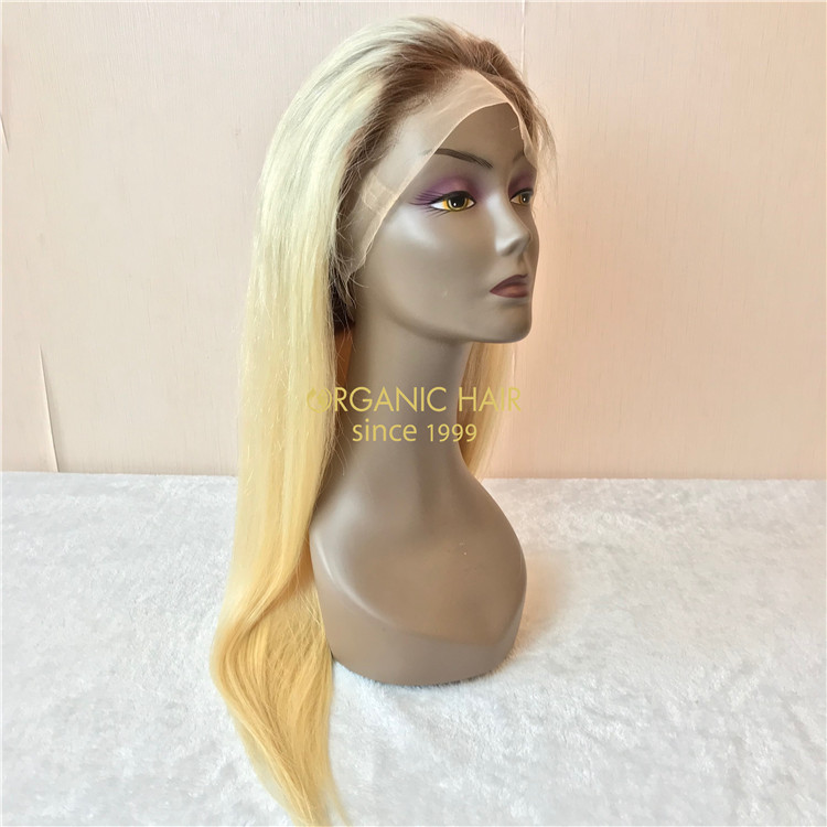 Cheap human full lace wigs on sale X84