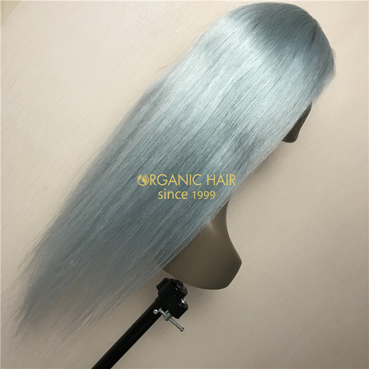 Custom cheap human full lace wig baby hair X95
