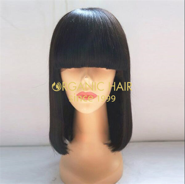 China factory cheap synthetic lace front wigs wholesale