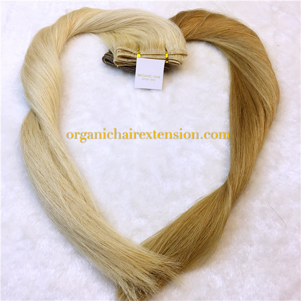 Human hair permanent hair extensions real hair extensions
