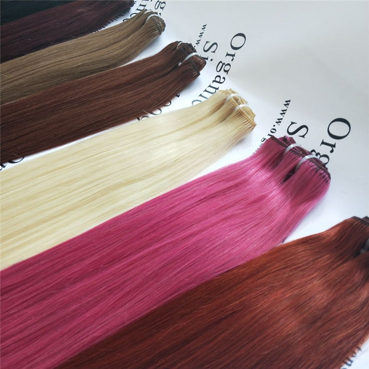 To Blend Clip In Luxy Hair Extensions With Thin Hair J02 China Oem