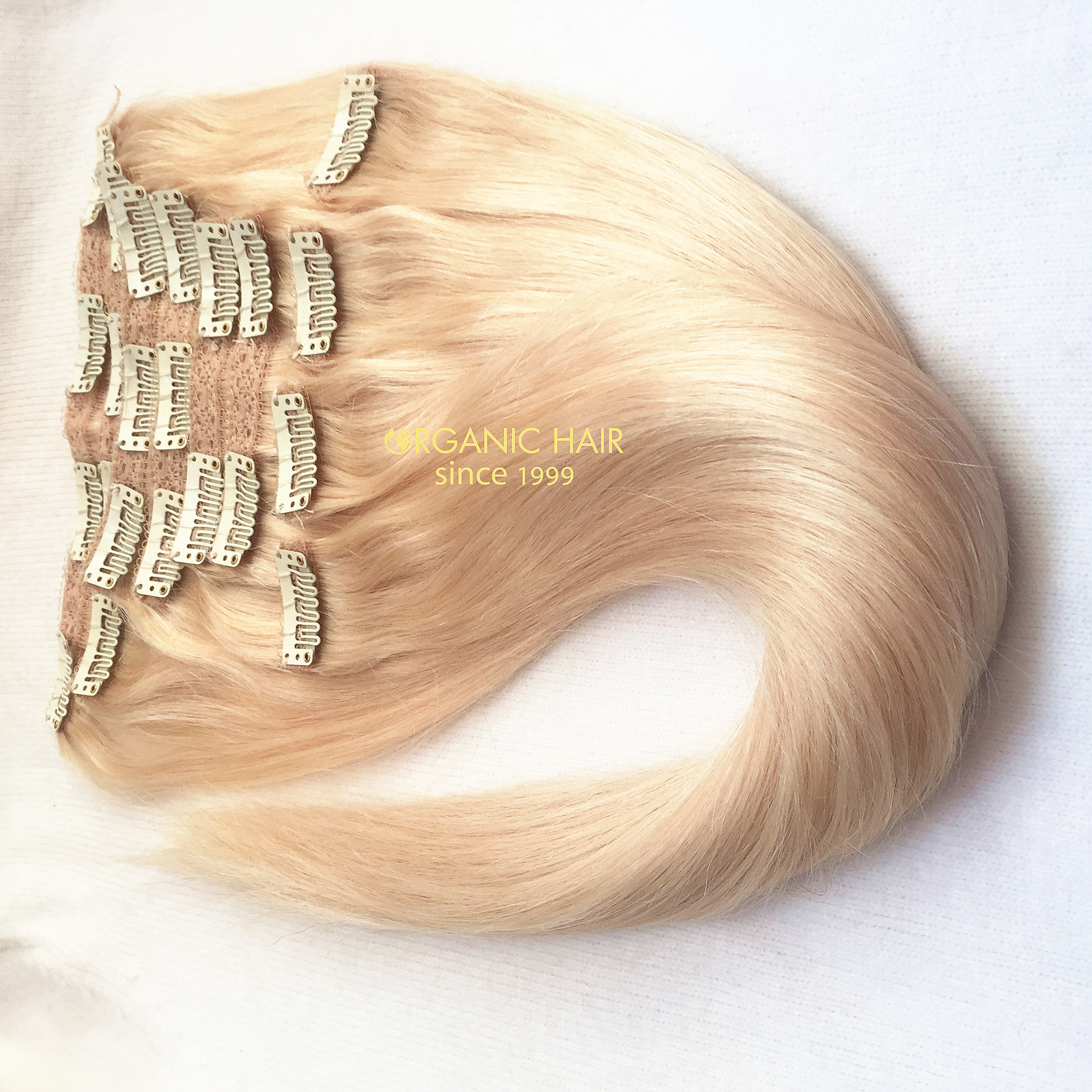 colored clip in hair extensions china oem colored clip