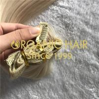 Clip-in Organic Hair extensions H142