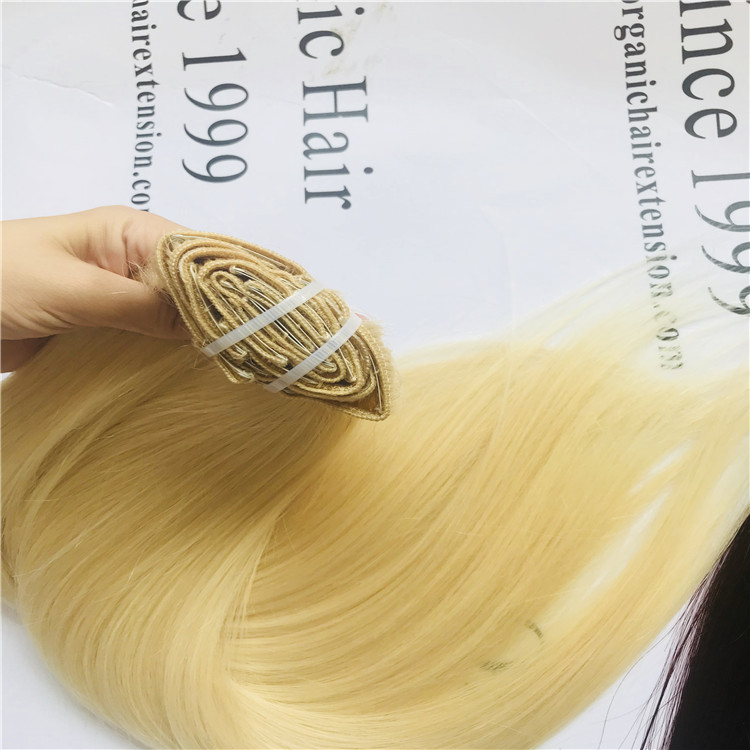 Clip In Hair Extensions H16 China Oem Clip In Hair Extensions H16