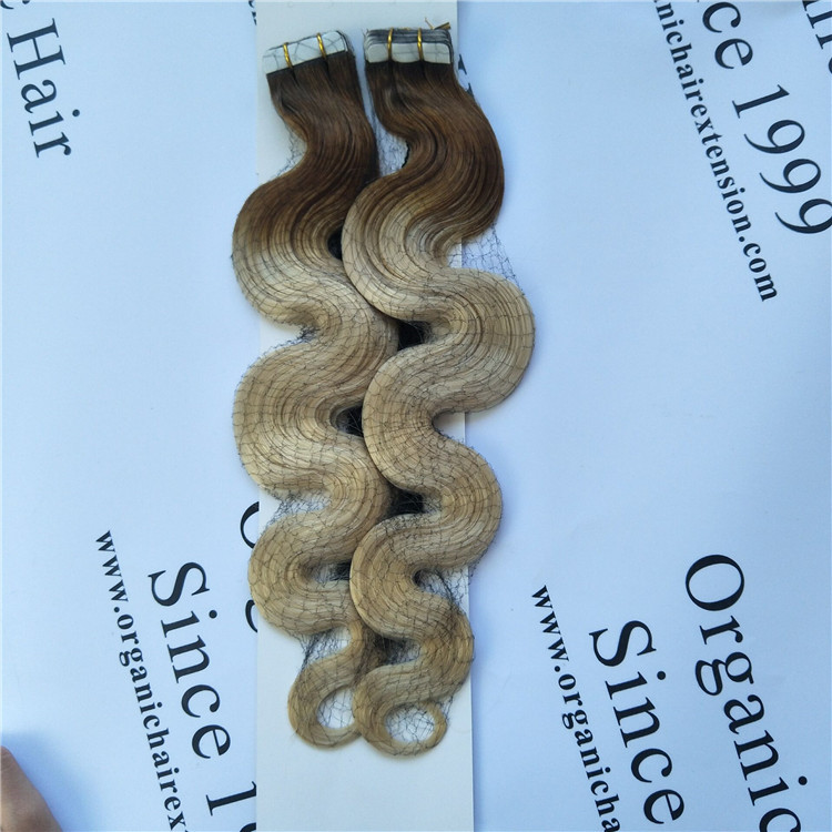 #T6/60 tape in hair extension at a wholesale price in china A29