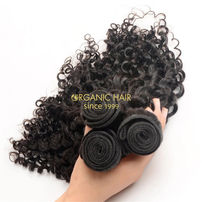 human hair wholesale curly hair extensions for sale