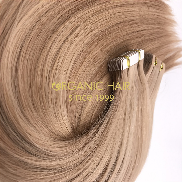 Nordic blonde balayage tape in hair hot sale X296