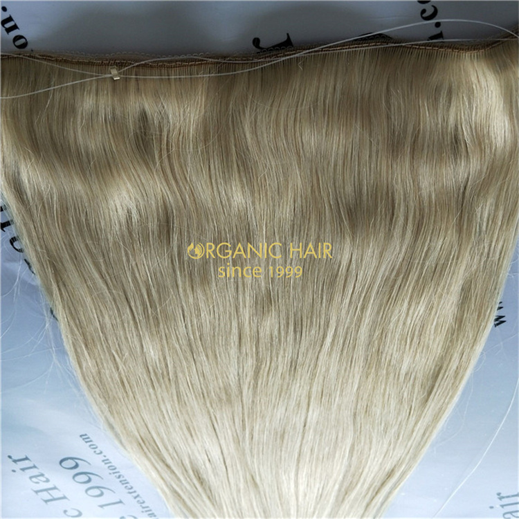 Reusable halo hair wholesale V78