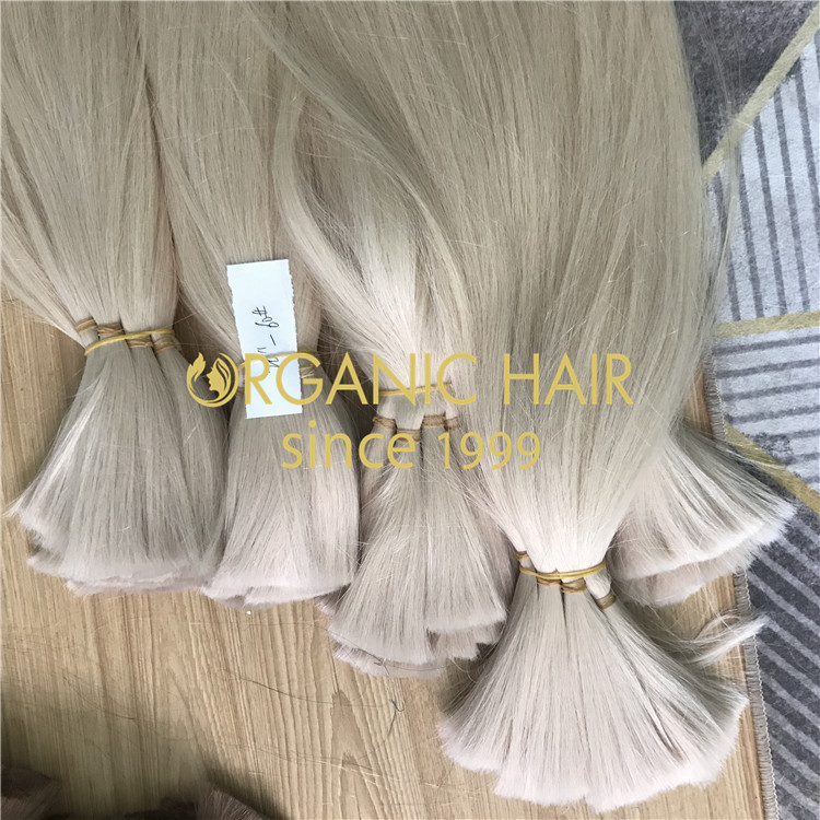 Cuticle correct hair extensions supplier  H257