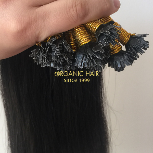Wholesale beaded hair extensions flat tracks hair extensions