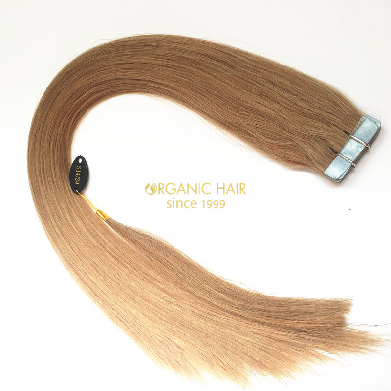 Mix color S14/24 sleek hair extensions wholesale