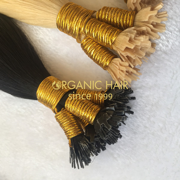 Wholesale colored hair extensions fantip