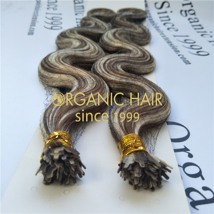 Mini flat tip hair extensions- Chinese famous full cuticle hair factory GT46