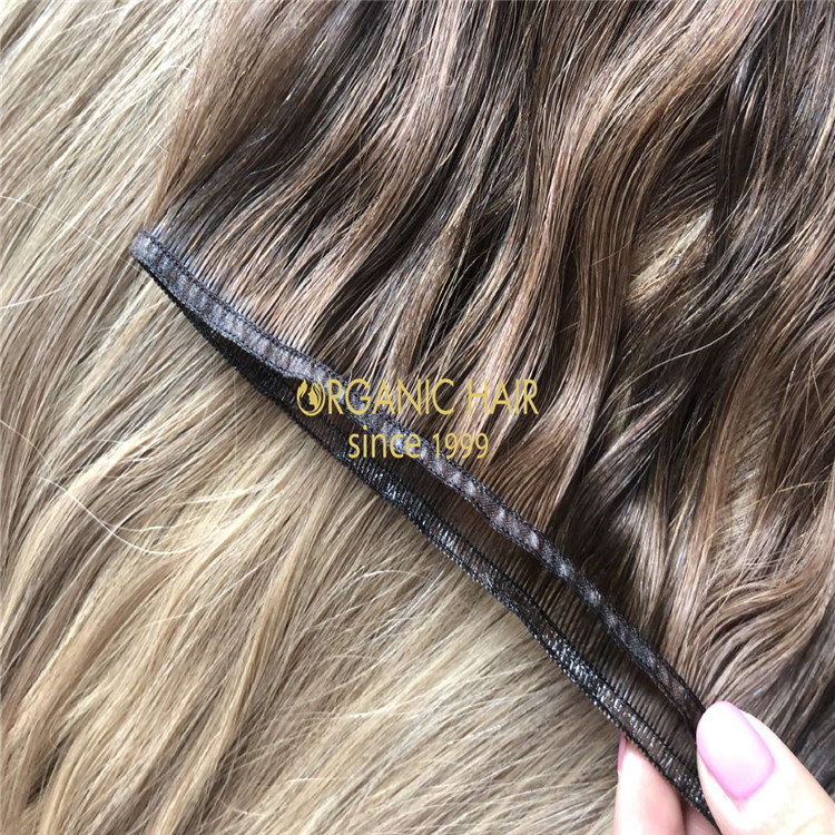 New weft,new trend,hybrid wefts hair extensions A201