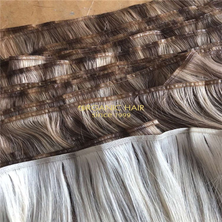 Hair extensions to order-- Lace weft hair extensions CC118
