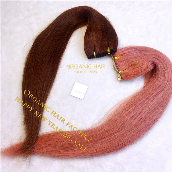 Flip In Hair Extensions For New Year 2017 Gift Organic Hair