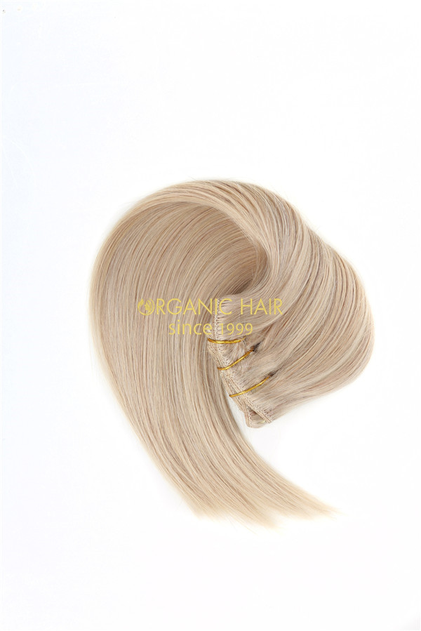 Cheap remy hair full head clip in hair extensions suppliers