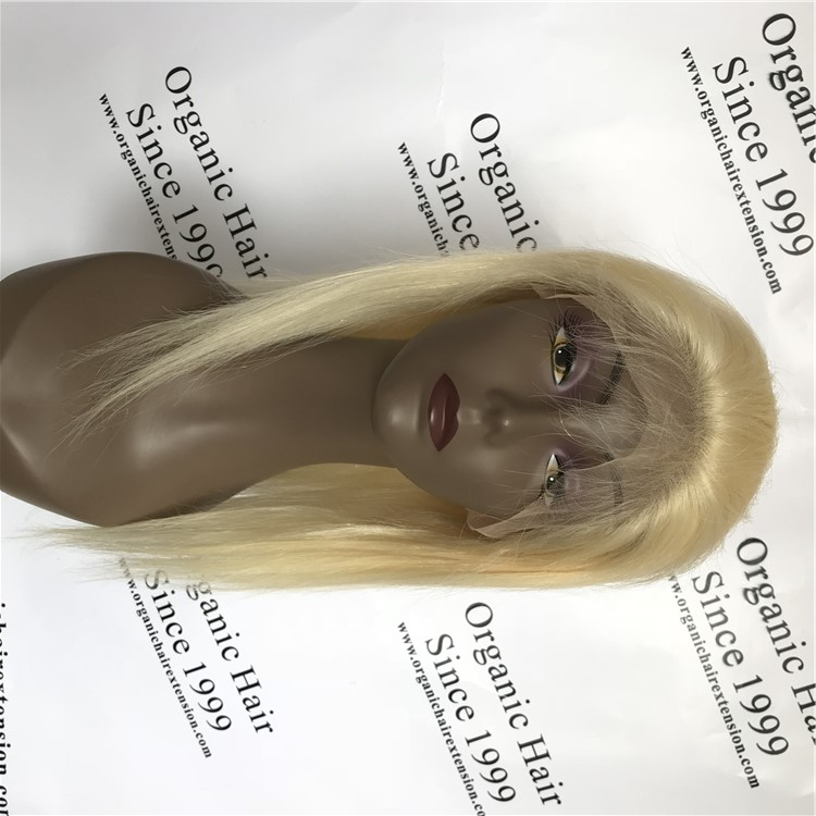 High quality blonde full lace wig H35