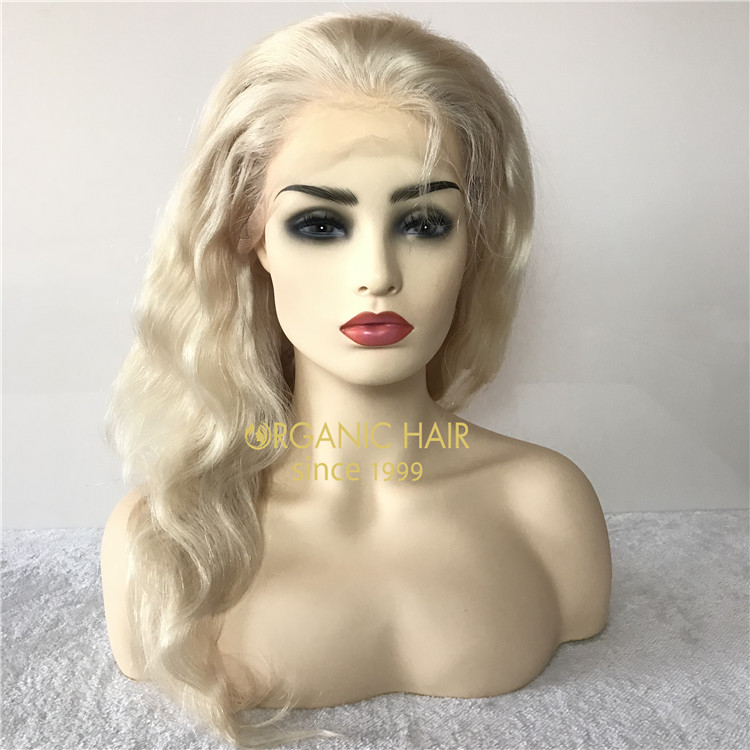 Human custom full lace wigs on sale #60A color X100