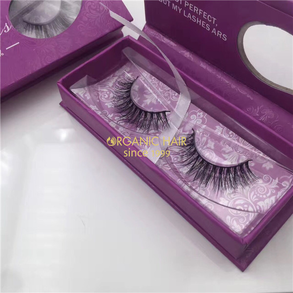 3D Invisible Band Naked Mink Fur Lashes Wholesale