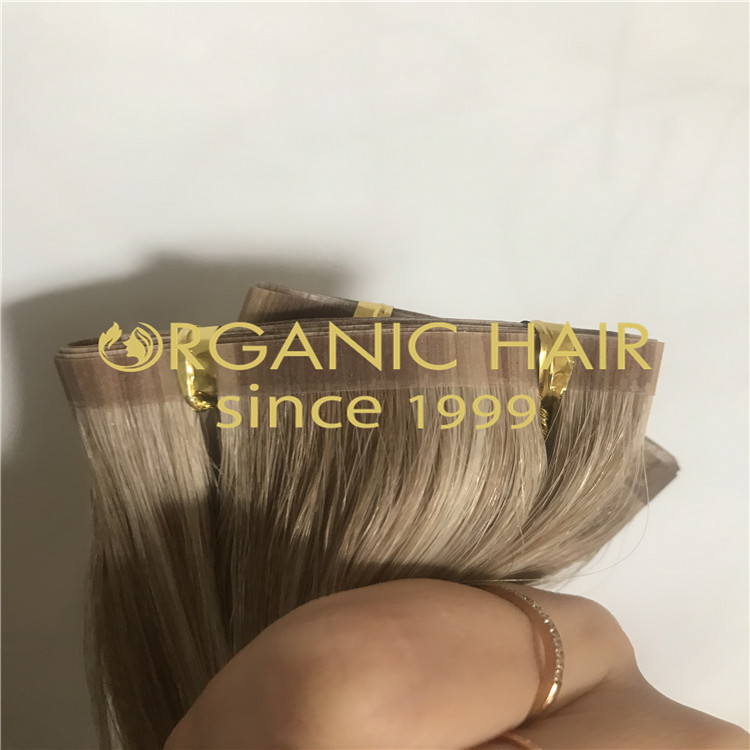 Cuticle intact Organic seamless weft  H225