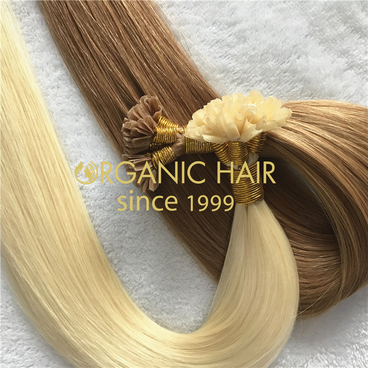 Hot sell U tip hair extensions C84