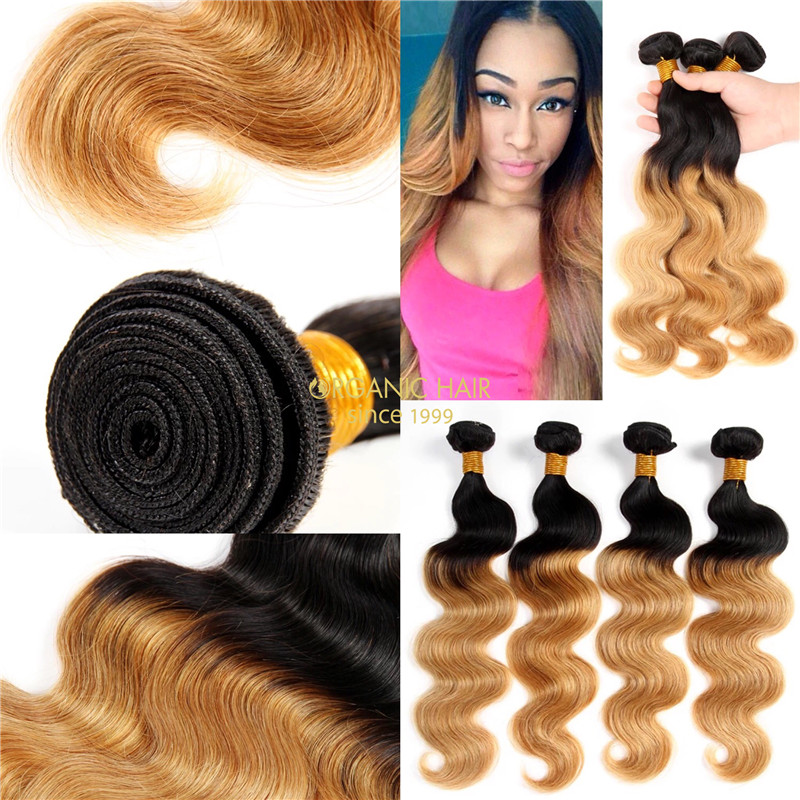 Orgainc natural hair extensions virgin hair