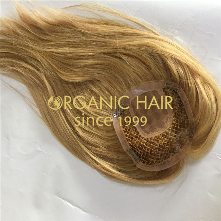 Multi-directional styling hair topper for women H170