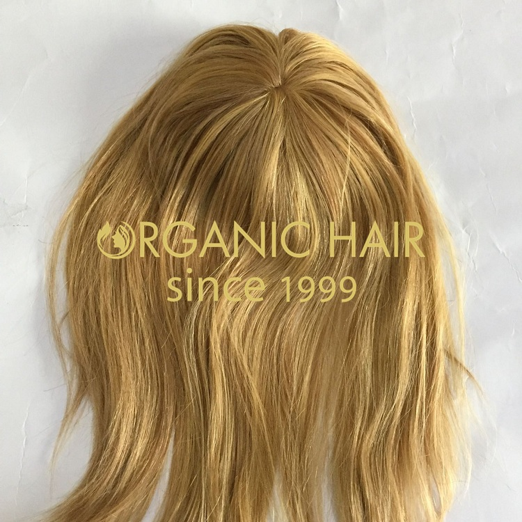 High quality remy human hair topper supplier in Tsingtao I8