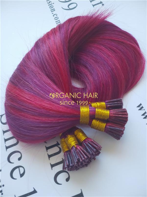 Hair Wholesale Factorythe Best Pre Bonded Hair Extensionsi Tipu