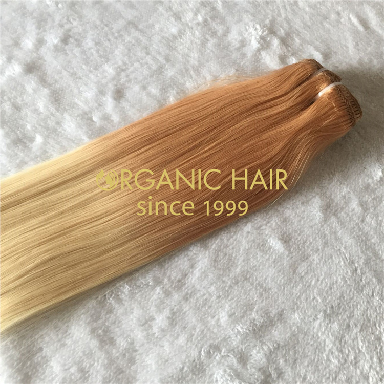 Easy quick using clip in hair extensions wholesale V60