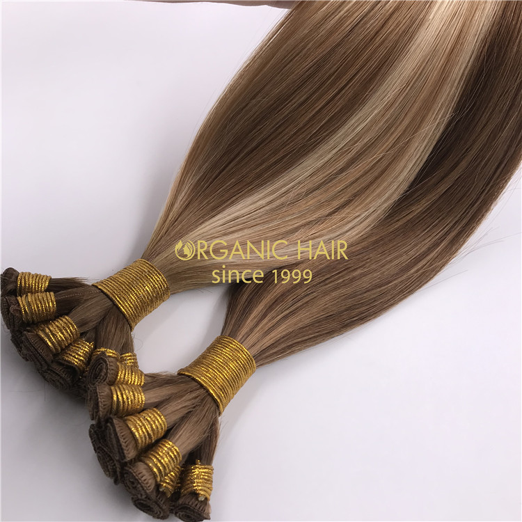 Silicone free hair extensions supplier RB93