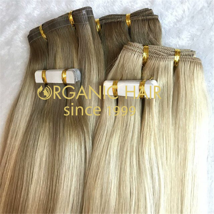 TAPE IN HAIR EXTENSIONS--BALAYAGE H236