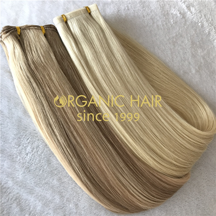 Best remy human hair extensions factory V83