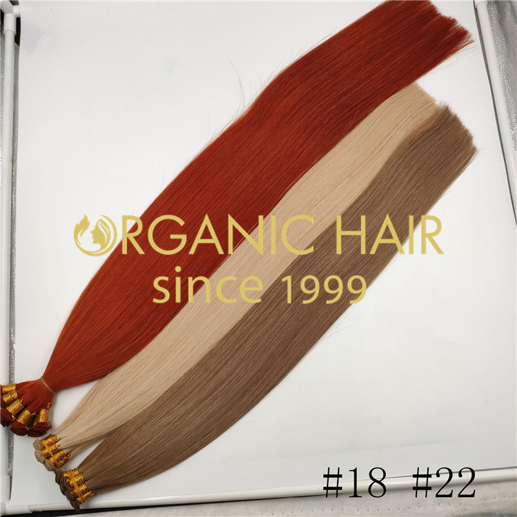 Full cuticle in the same direction hair extensions rb109