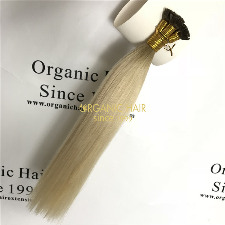 Best pre bonded flat tip hair wholesale V75