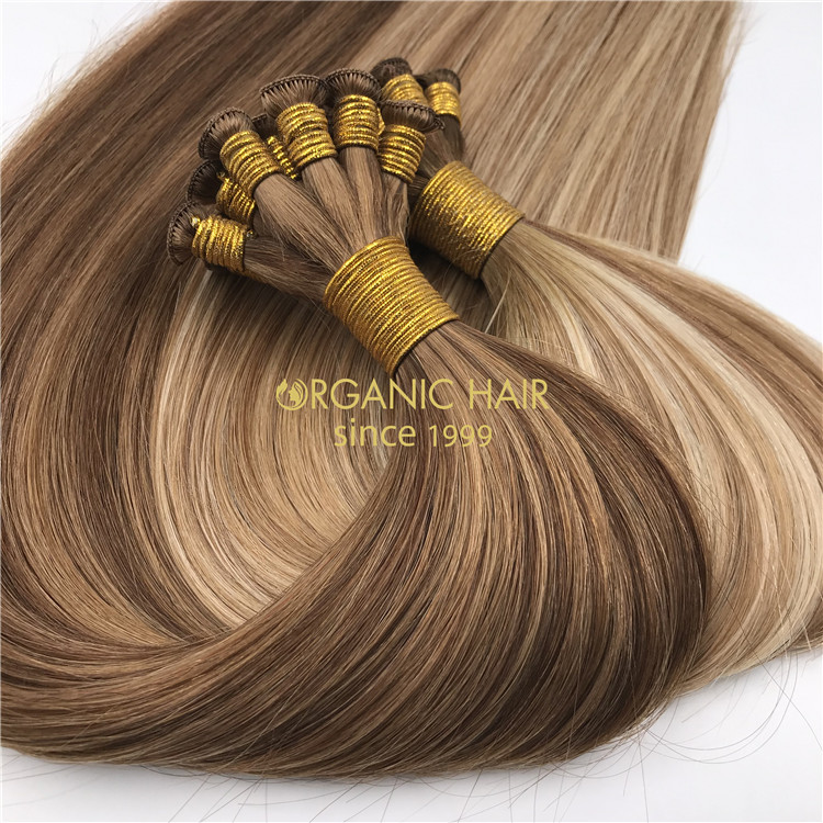 Braided weft hair extensions supplier RB96