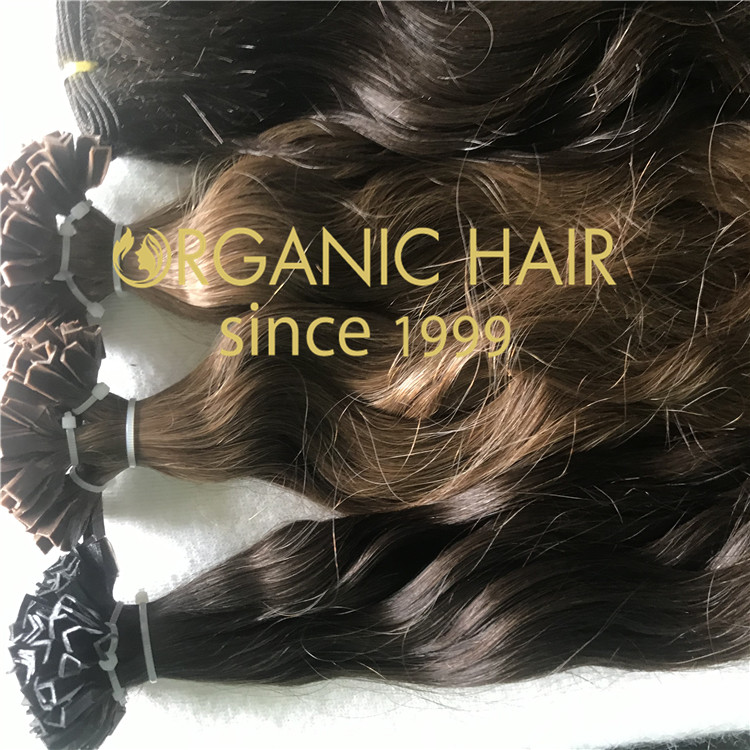 Water Curly Flat Tip Hair Extensions H308