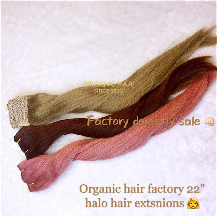 Hot sale wholesale remy flip halo hair extensions A7