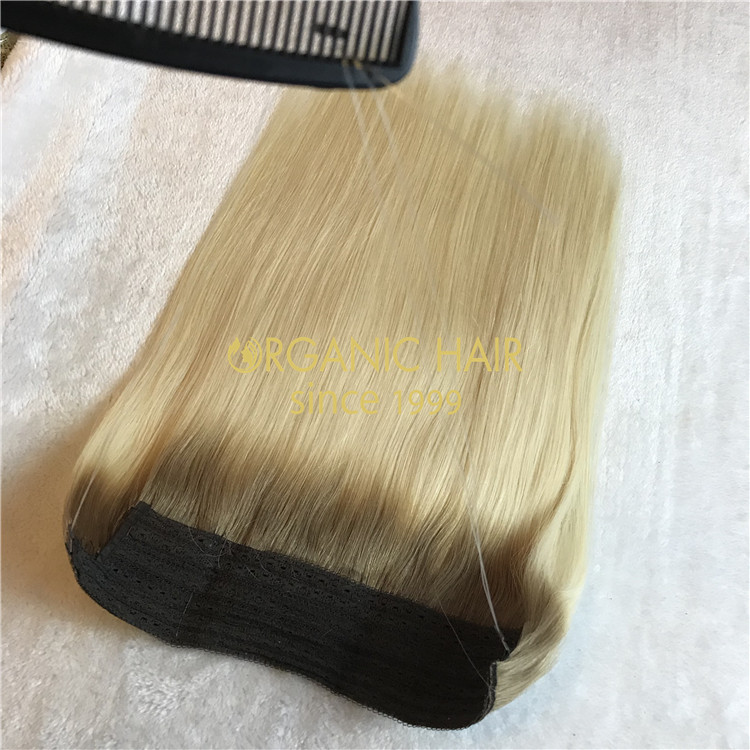 Ombre #8/60 color human halo hair on sale x115