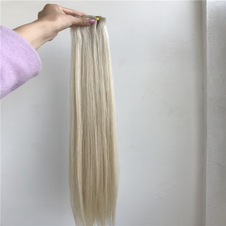 The most popular hand tied blond hair H184
