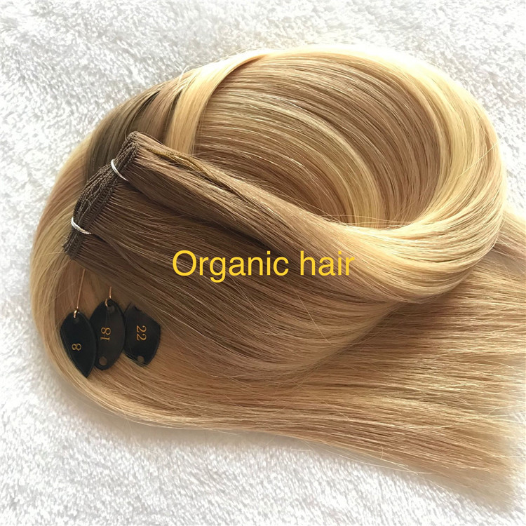 High quality piano color hand tied weft on sale I15