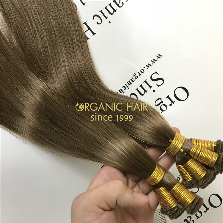 Hand Tied Wefts vs Beaded Wefts Maintenance C27