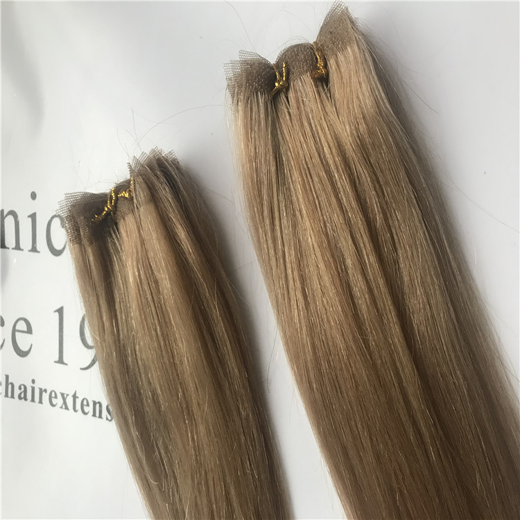 Wholesale remy hair of lace hand tied weft H18
