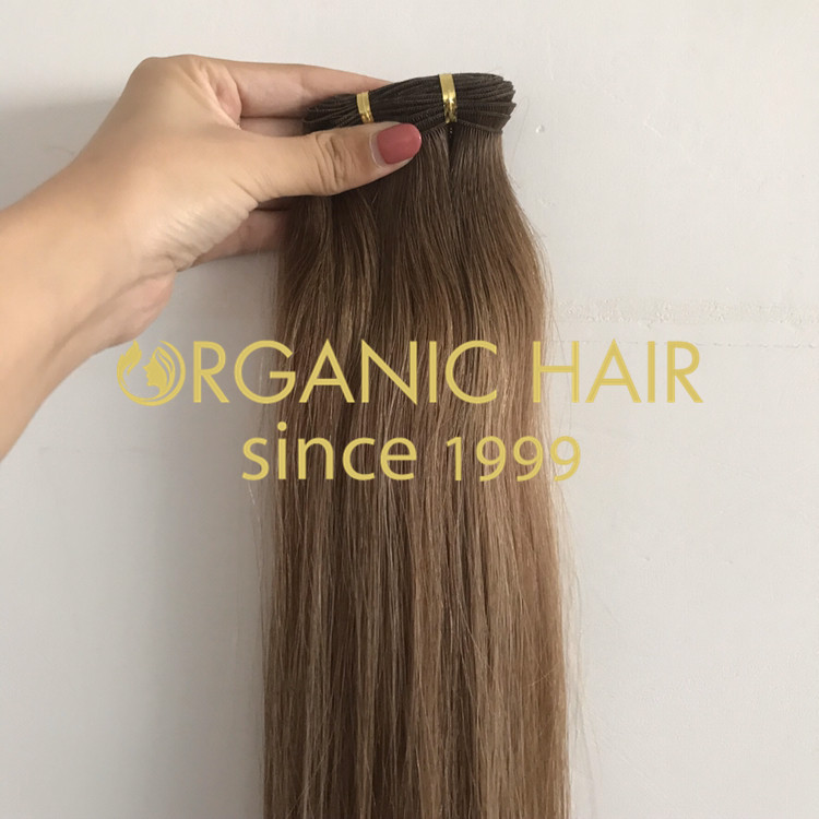 Best quality hand tied weft with cut points H306