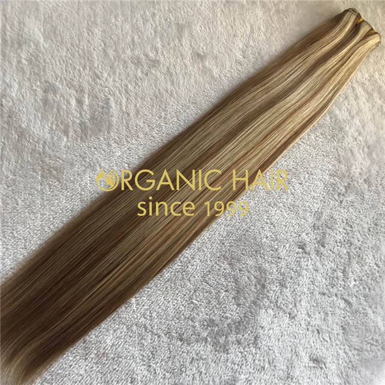 Professional factory wholesale best hand tied weft V66