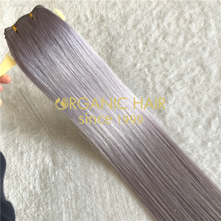 2021 wholedale best quality remy handtied wefs V26