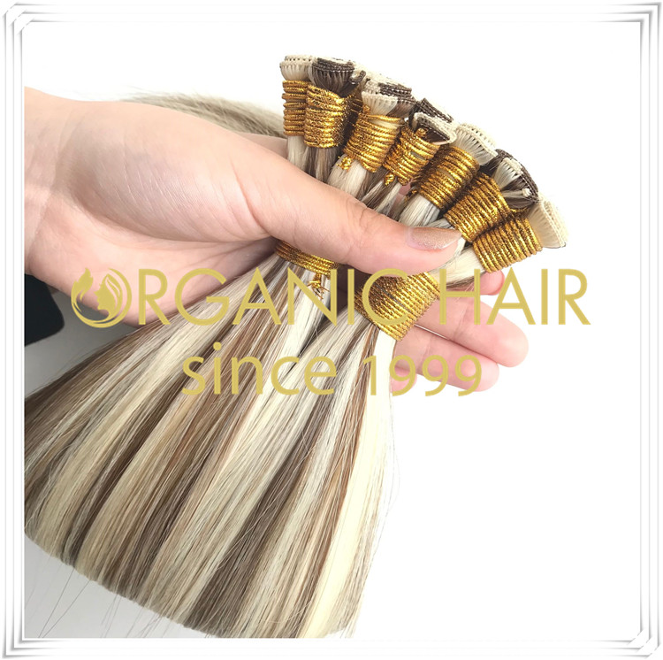 Top quality body wave hand ted weft wholesale RB20