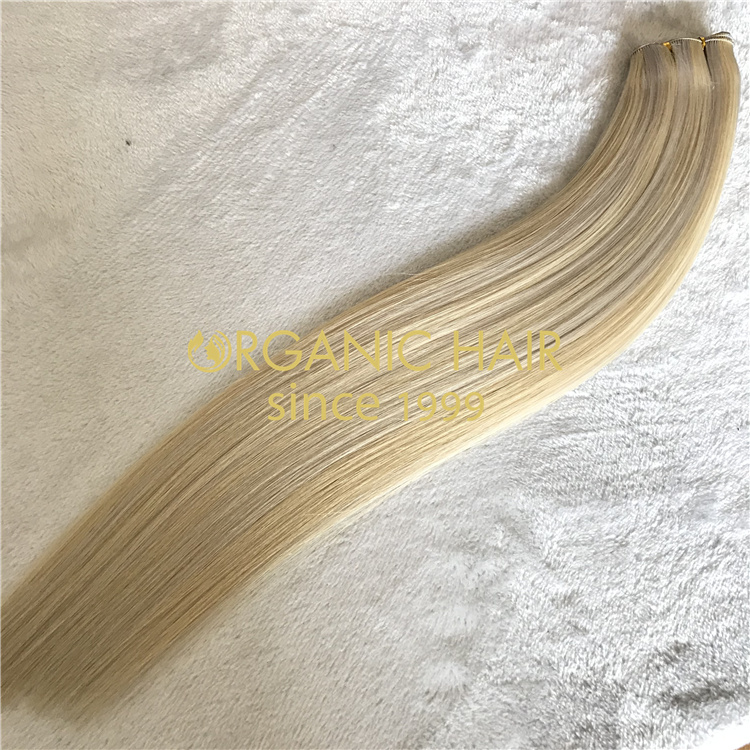 Wholesale best hand tied wefts 2021 V52