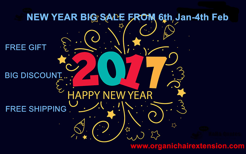 Happy New Year 2017 Big Sale